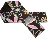 Camera Strap Cover Slipcover Michael Miller Daisy Dreams with minky