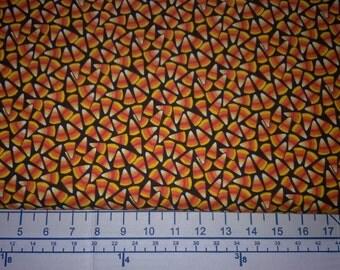 Candy Corn Cotton Print Fabric