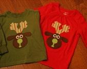 Prancer Reindeer Shirt