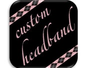 Custom Color Headband Deposit