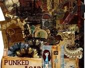 Punked Again Steampunk Vintage Digital Scrap kit  by Espresso Scrap Shoppe