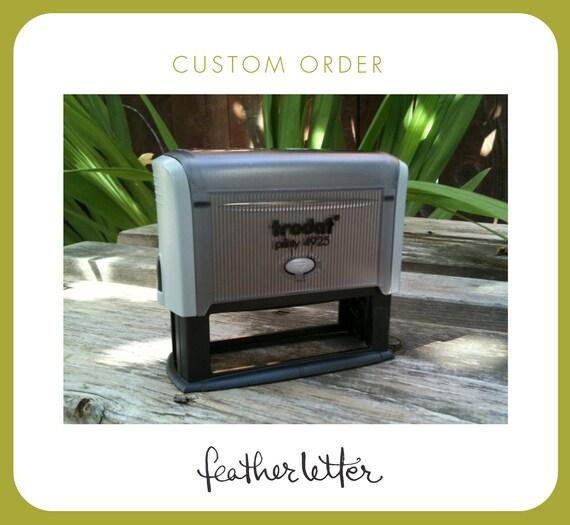 custom listing for selene230