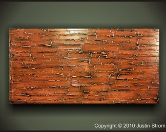 Large Original Textured Painting 48 x 24 Wall Art Canvas Made To Order, Original Acrylic Modern Wall Art, Abstract Painting