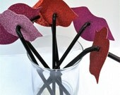 Set of 300 Lips and Mustaches on a Straw Party Favor Set Assorted Styles Wedding Favors