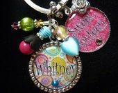 PERSONALIZED Sweet Sixteen, Graduation Class of 2012, Mom, Grandma, Nana, Your Choice Keychain/Pendant Necklace