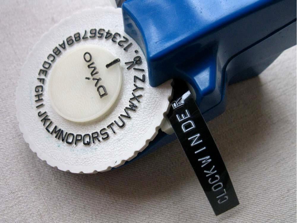 Vintage Dymo Label Maker Machine Hand Held Embossed Letter