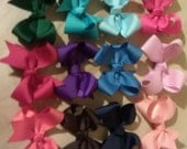custom listing Medium  Boutique Bows set of 10 no clip
