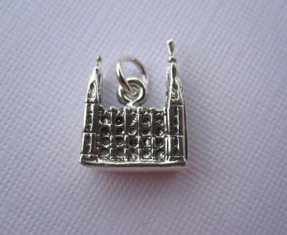 Salt Lake LDS Temple Sterling Silver Charm