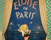 S A L E--Vintage First Edition Eloise in Paris 1957
