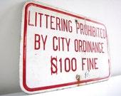 Vintage City Signage