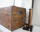Antique Folding Crate