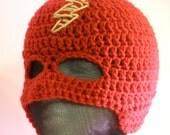 Red Lightening bolt Superhero Mask for Child