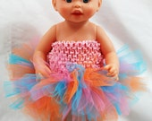 Create Your Own Baby Doll Tutu - Fits American Girl Doll and My Generation Dolls Too