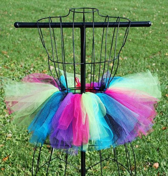 Shockingly Neon Mini Tutu - Custome Fitted for Babies and Childres
