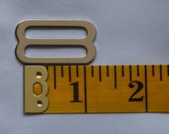 1 inch Metal Tri Glide Pack of 30 Metal Slides Bag Hardware