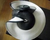 Cruella Derby Hat With Rhinestones