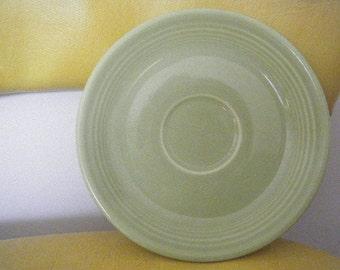 Chartreuse Green Fiestaware Dessert Plate