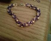 Purple and copper