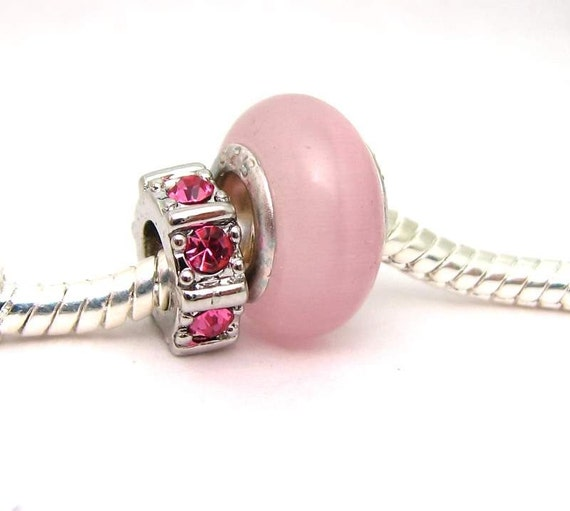 october birthstone bead duo for pandora by stlouisbeads on