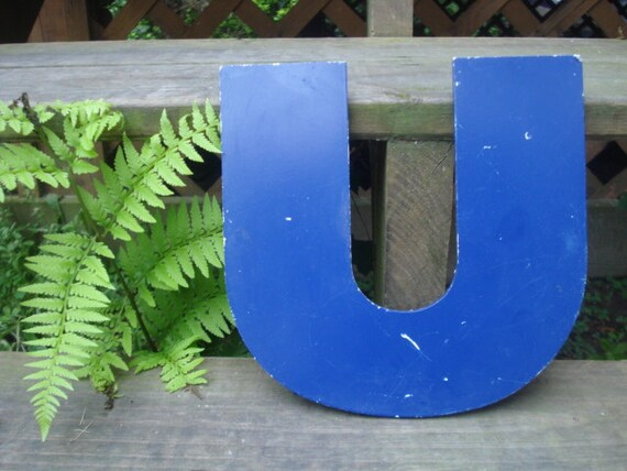 Reserved for June Only Vintage  Letter U