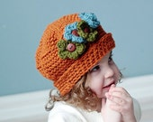 Crochet Hat Pattern- Sweet and Sassy Hat All sizes baby to adult INSTANT DOWNLOAD