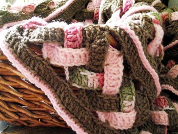 CROCHET PATTERN- Weaves Baby Blanket Instant Download