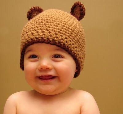 BABY BEAR HAT PATTERN   FREE Knitting PATTERNS