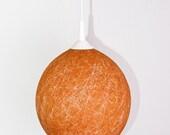 Handmade lamp, lamp shade, pendant light, ceiling, hanging lamp Orange Fall by FiligreeCreations on Etsy