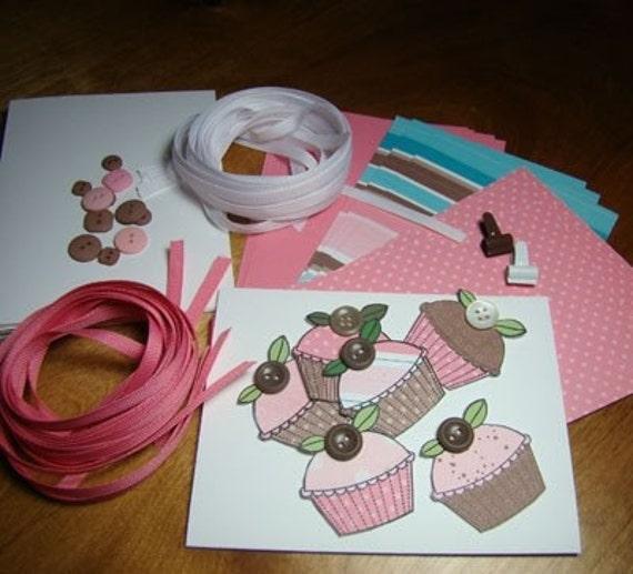 Cupcake Card Kit