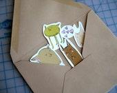Sticker Set--Little Monsters