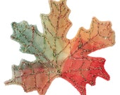 Autumn Leaf Brooch