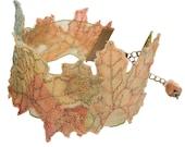 Autumn Leaf Cuff Bracelet