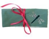 Dragonfly Jewellery Wrap Purse