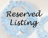 Reserved Listing for sassycassjems