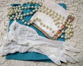 Vintage 3 Piece Ladies Accessories with Beads