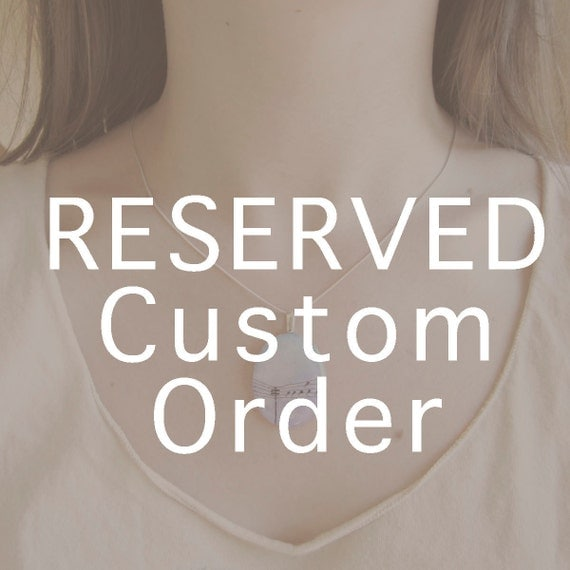 RESERVED for Natalie - Custom Order Payment 2 of 2