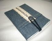 eReader Fabric Sleeves / Kindle Case / Nook Sleeves / Padded Case / Padded Cover for Kindle 3 / Herringbone Tweed Wool