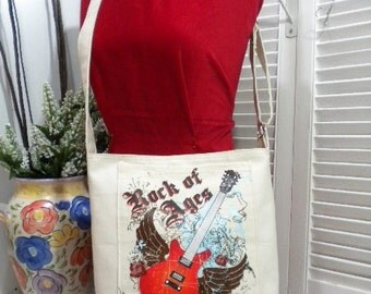 CANVASS HOBO SCHOOL EVERYDAY PURSE BAG with ADJUSTABLE STRAPS