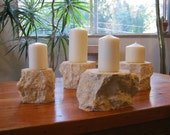 4 Vicenza candle holder lot
