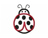 Instant Download Ladybug Embroidery Machine Applique Design-608