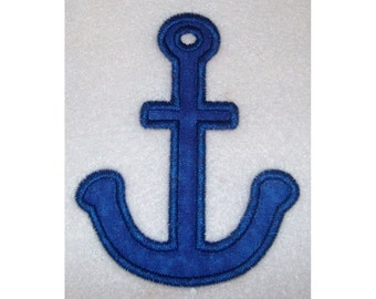 Instant Download Anchor Embroidery Machine Applique Design-645