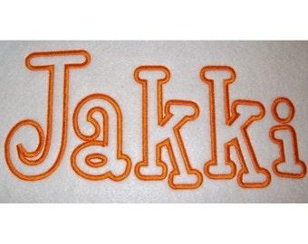 Instant Download Boys R Gross Embroidery Machine Applique Alphabet Design 724
