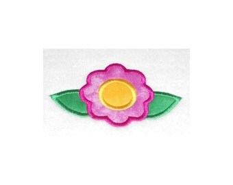 Instant Download Simple Flower Embroidery Machine Applique Designs-868