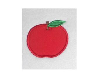 Instant Download Apple Embroidery Machine Applique Designs-862