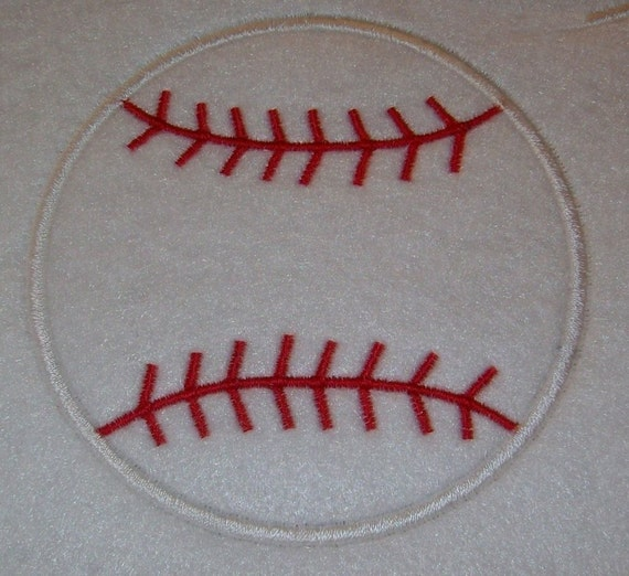 Instant Download Baseball Embroidery Applique Design-548
