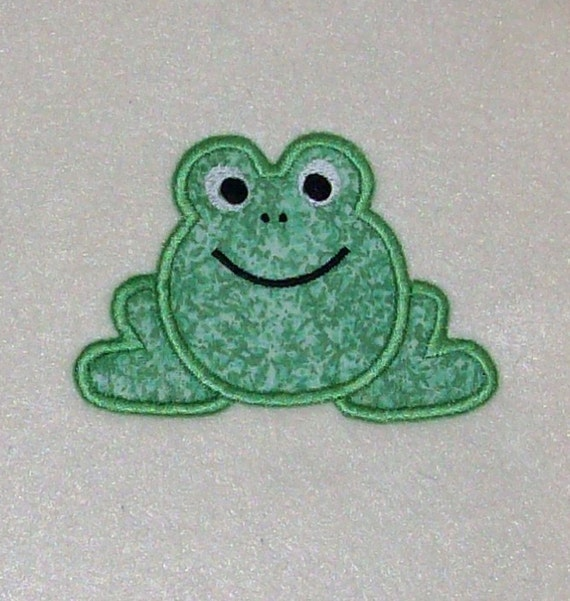 frog appliques for quilting