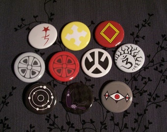 Complete D.Gray-man button set