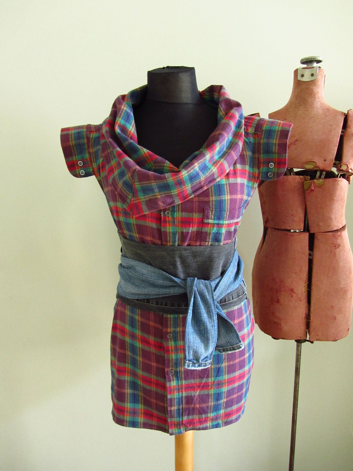 Plaid Flannel Shirts For Womens