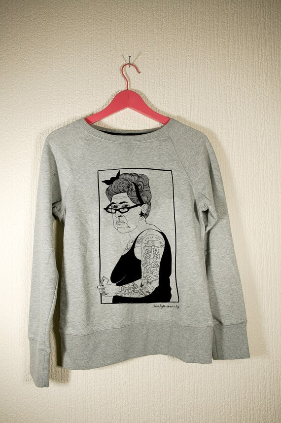 Tattoo Lady Sweater- Small