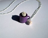 Hot Cocoa Necklace (pick any color)